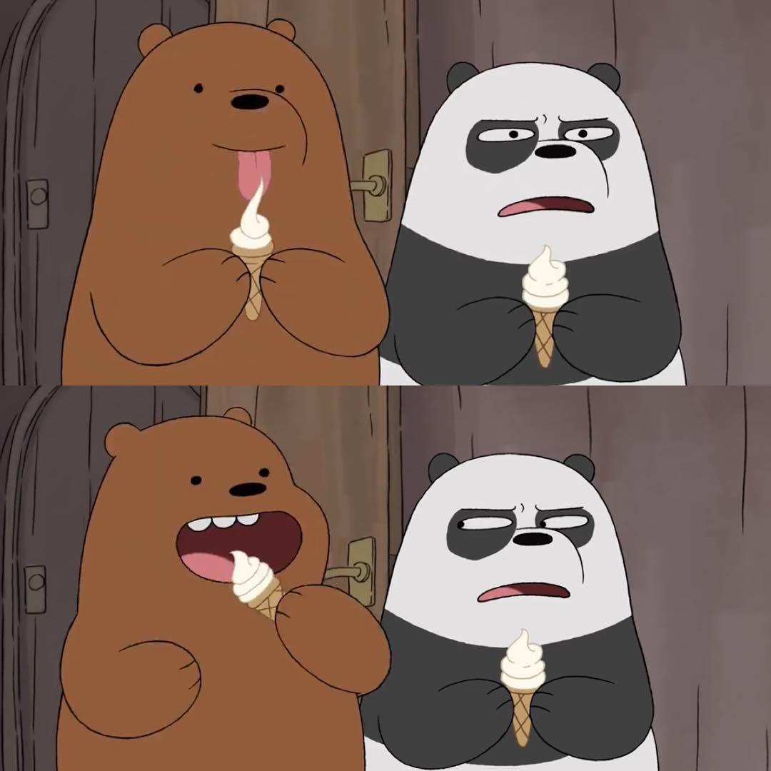 A Animacao We Bare Bears Ursos Sem Curso Narra A Historia De Pardo Panda E Polar Tres Forast Desenhos Fofos De Urso Urso Desenho Animado Desenho Urso Polar