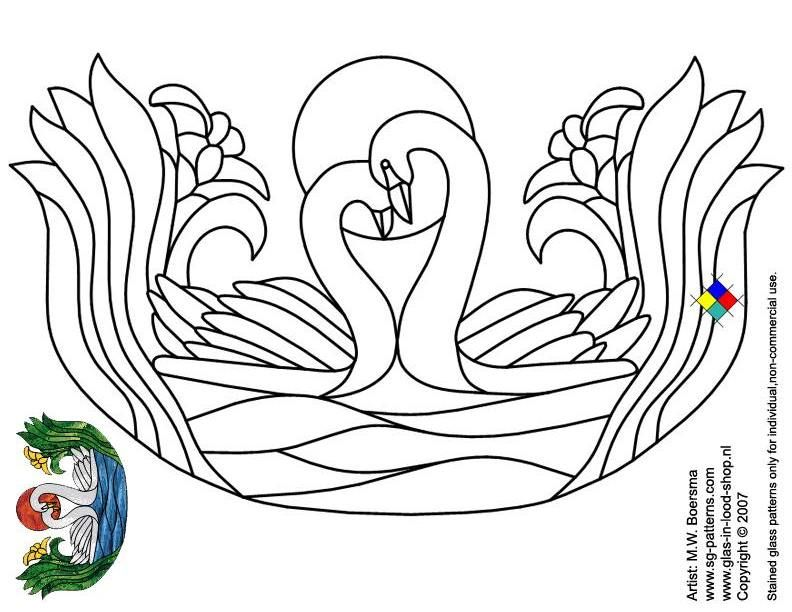 Glass painting patterns free glass painting basics for Glass painting templates