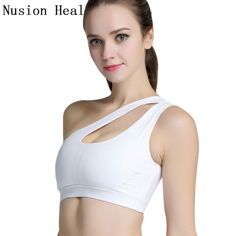 Women Wire Bra Vest Tops Backless Have A Chest Pad Wearing Sports Underwear L