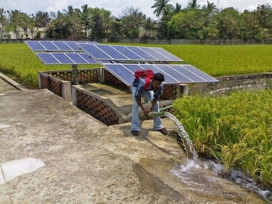 Sunwater Gives Farmers An Affordable Way To Pump Water Using Solar Power Solar Powered Water Pump Solar Water Pump Solar