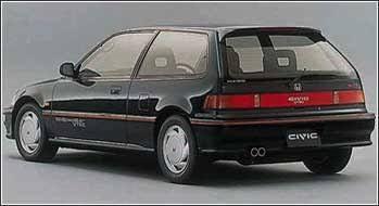 Honda Civic 1991 Honda Civic Honda Civic Si Hatchback Honda