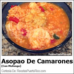 Asopao De Camarones