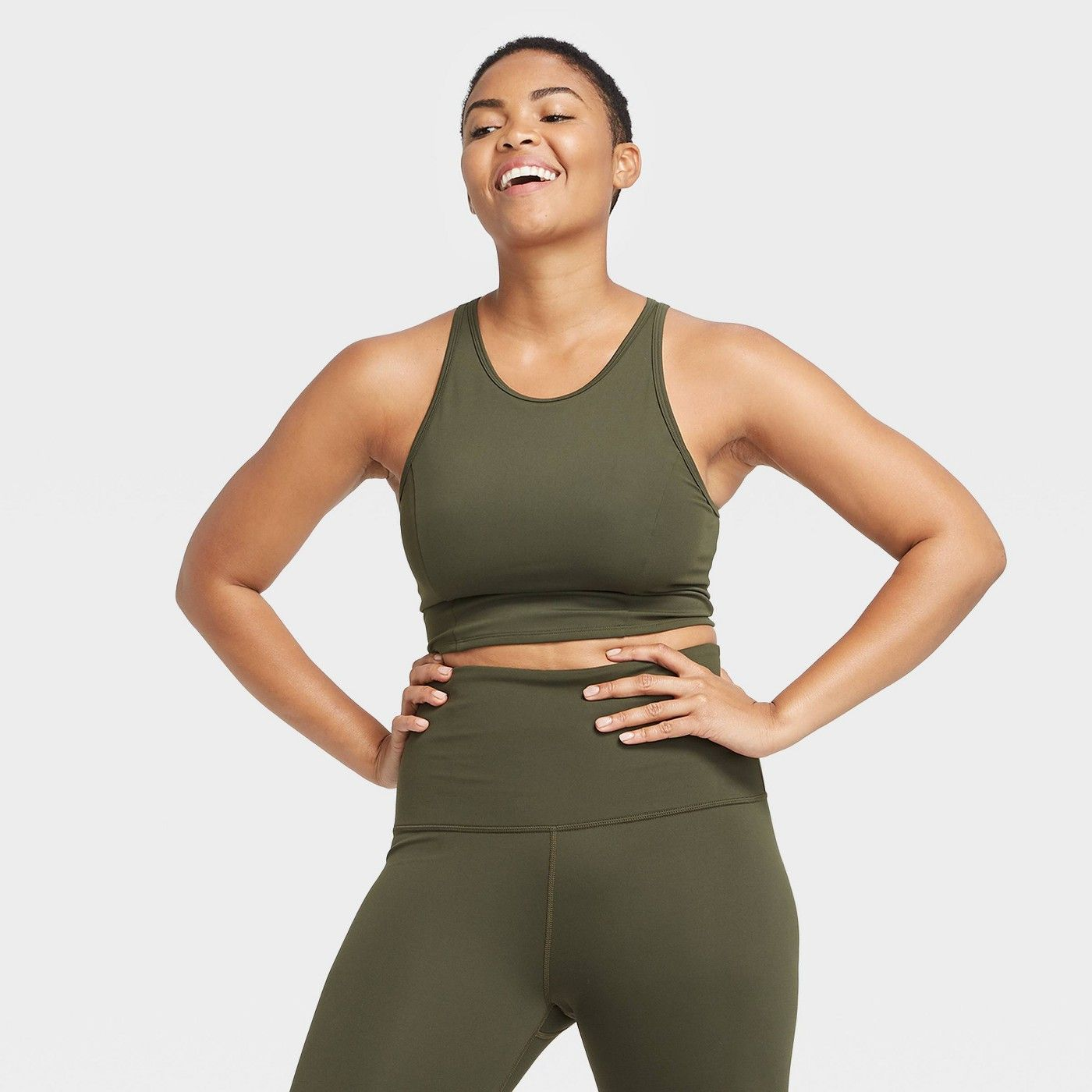 Women's Low Support Premium Long Line Bra All in Motion
