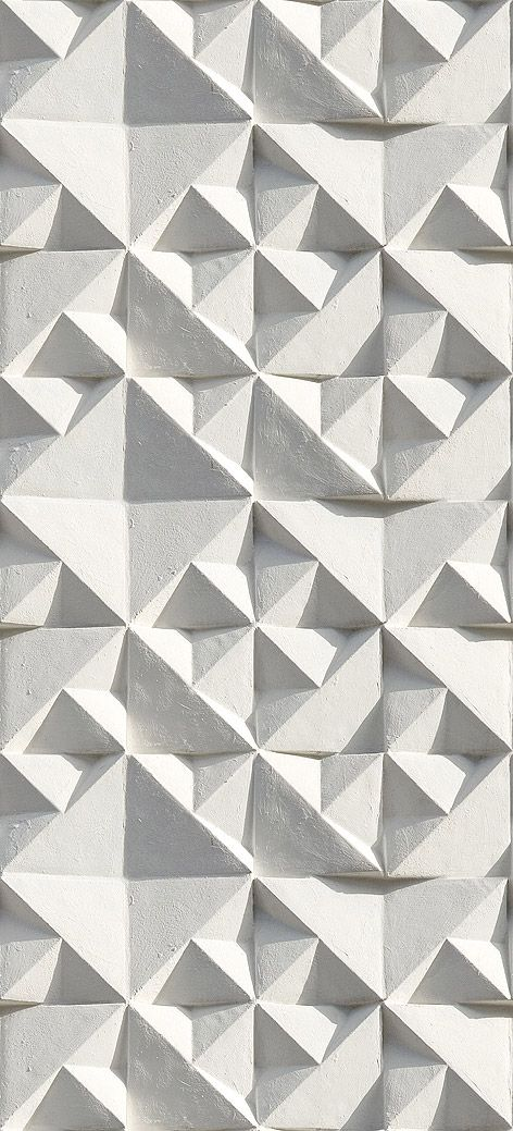 Geometric textured wall design from Ella Doran wall library