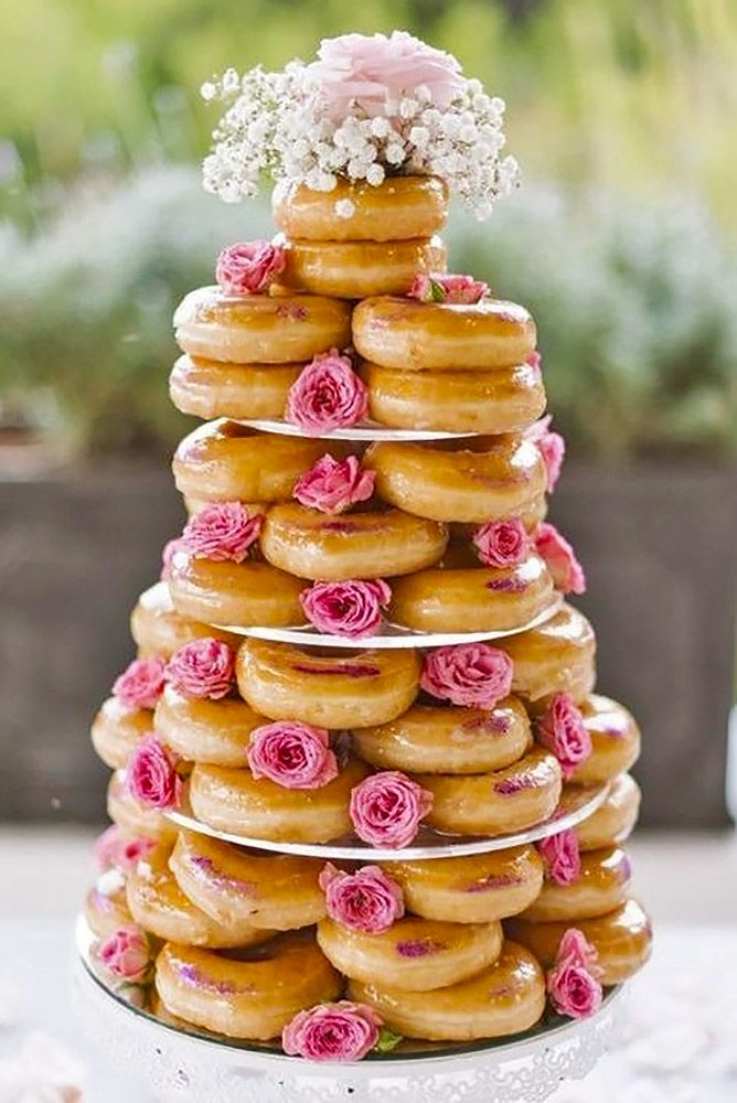 36 Wedding Cake Alternatives To Save Cash Lovely Cakes Cup Cakes