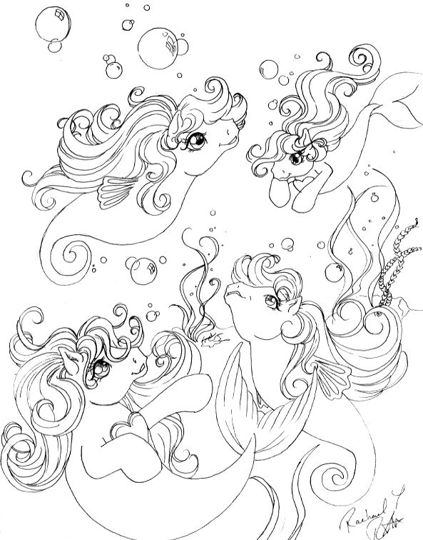 My Little Pony Sea Ponies