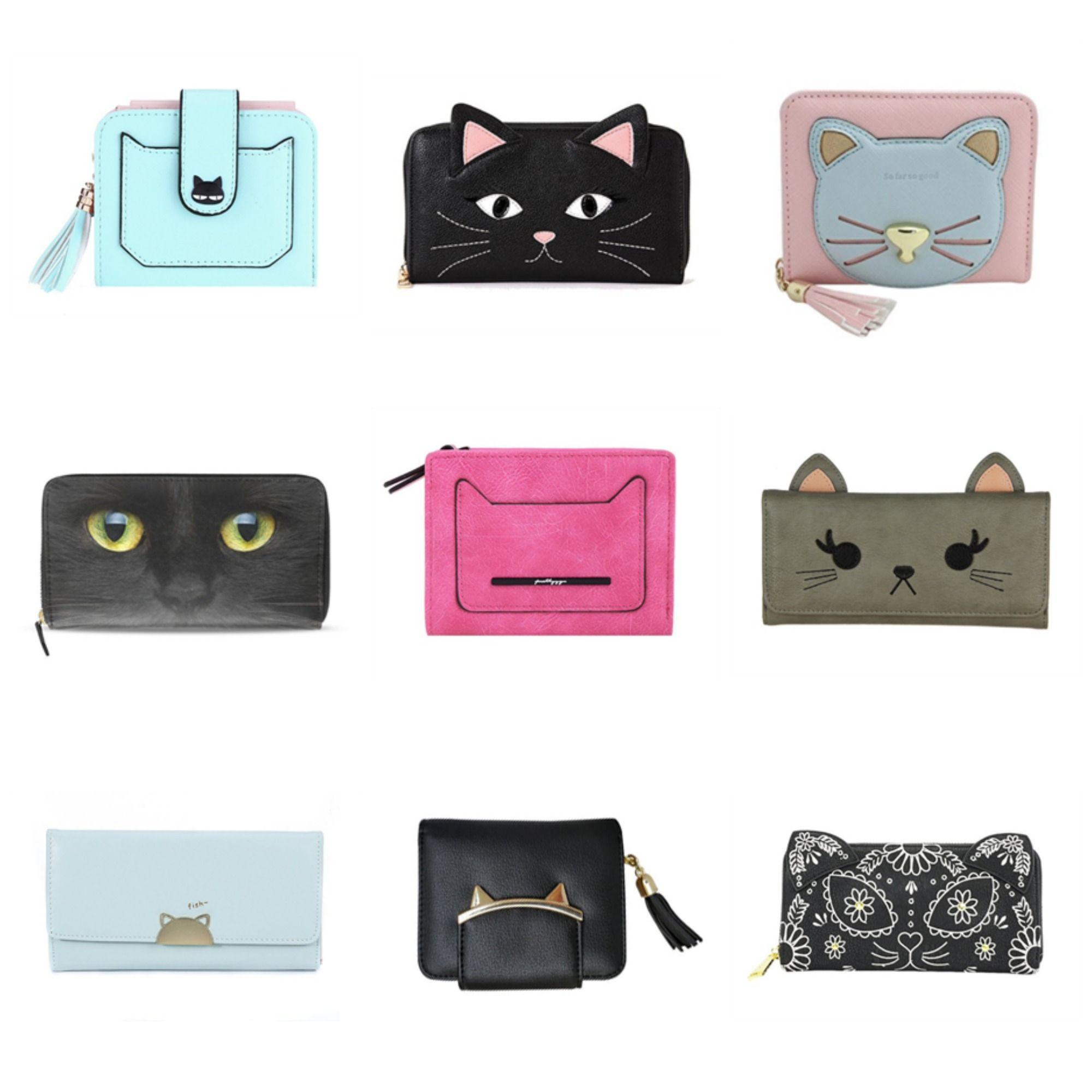 Stylish Cat fun & stylish cat wallets! #meowaf, #catfashion, #catwallet
