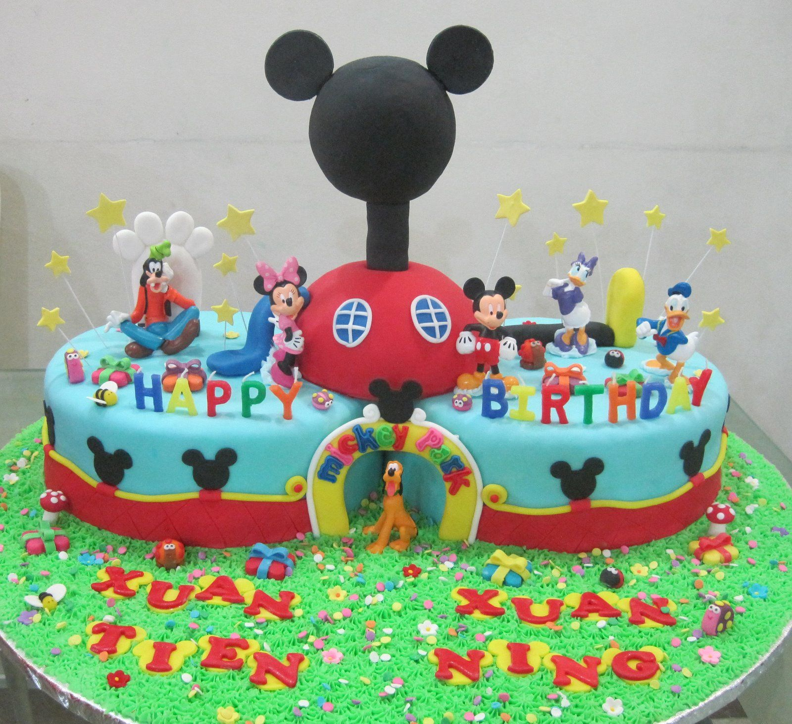 mickey mouse clubhouse boy 3rd birthday cake Google Search