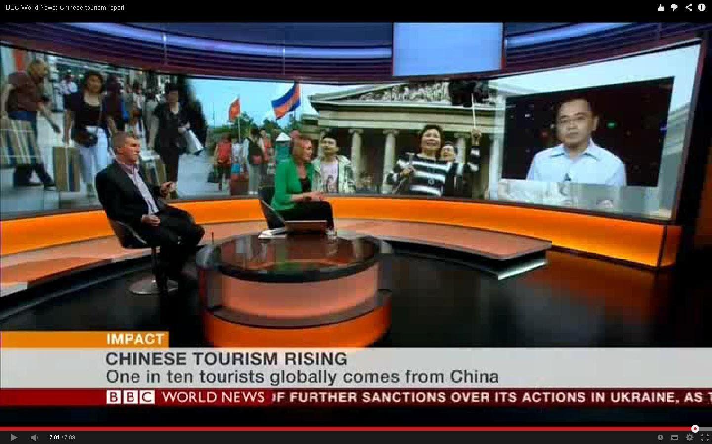 BBC World News Chinese tourism report Bbc world news
