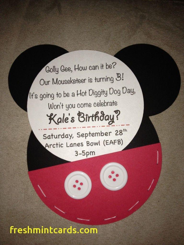 Mickey Mouse Birthday Invitation Ideas Inspirational Mickey Mouse Birthday Invitations Minnie Mouse Birthday Invitations Mickey Mouse Clubhouse Birthday Party