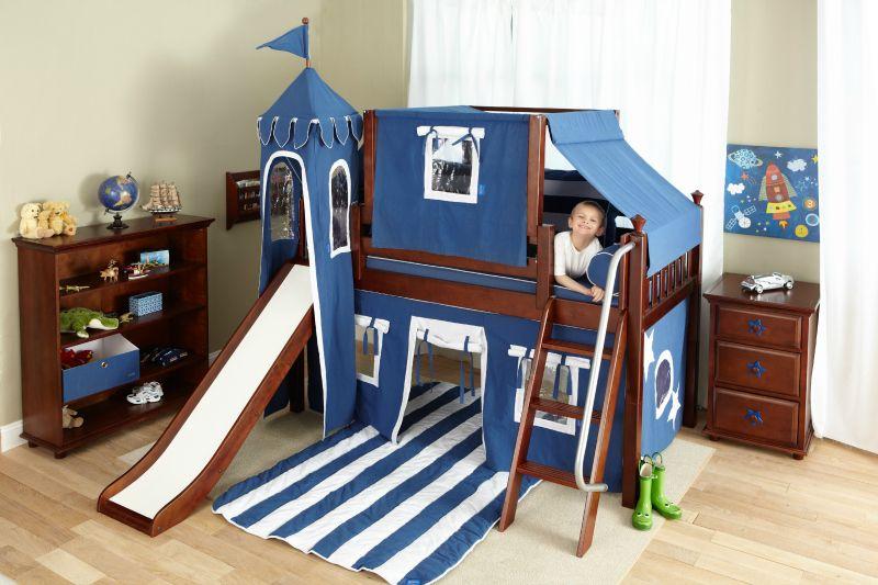 Best Twelve Kids Bedroom Ideas For Indoor Fun Kids Bedroom Designs Low Loft Beds Bed With Slide 400 x 300