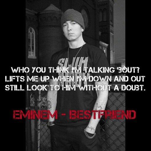 Pin By Summer Time On 6 Minutes Slimshady Ur On Eminem Lyrics Eminem Quotes Eminem