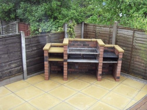 Pin by antoinette joseph on for the house pinterest brick bbq bricks and gardens - Building an outdoor brick barbecue ...