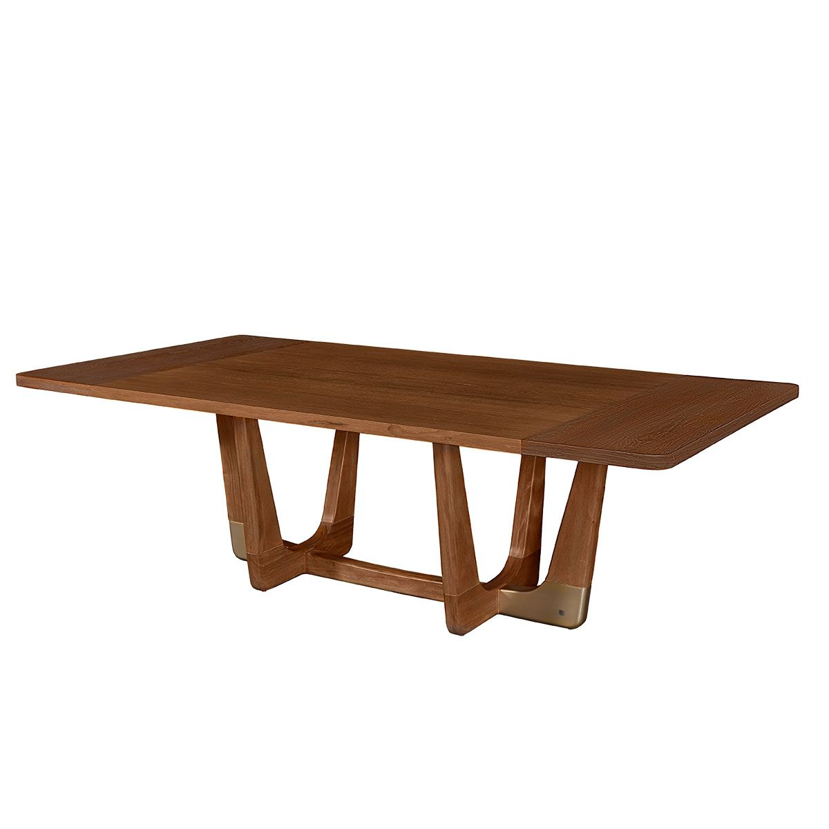 Rumba Dining Table 100 Wood Top French Oak Dining Table