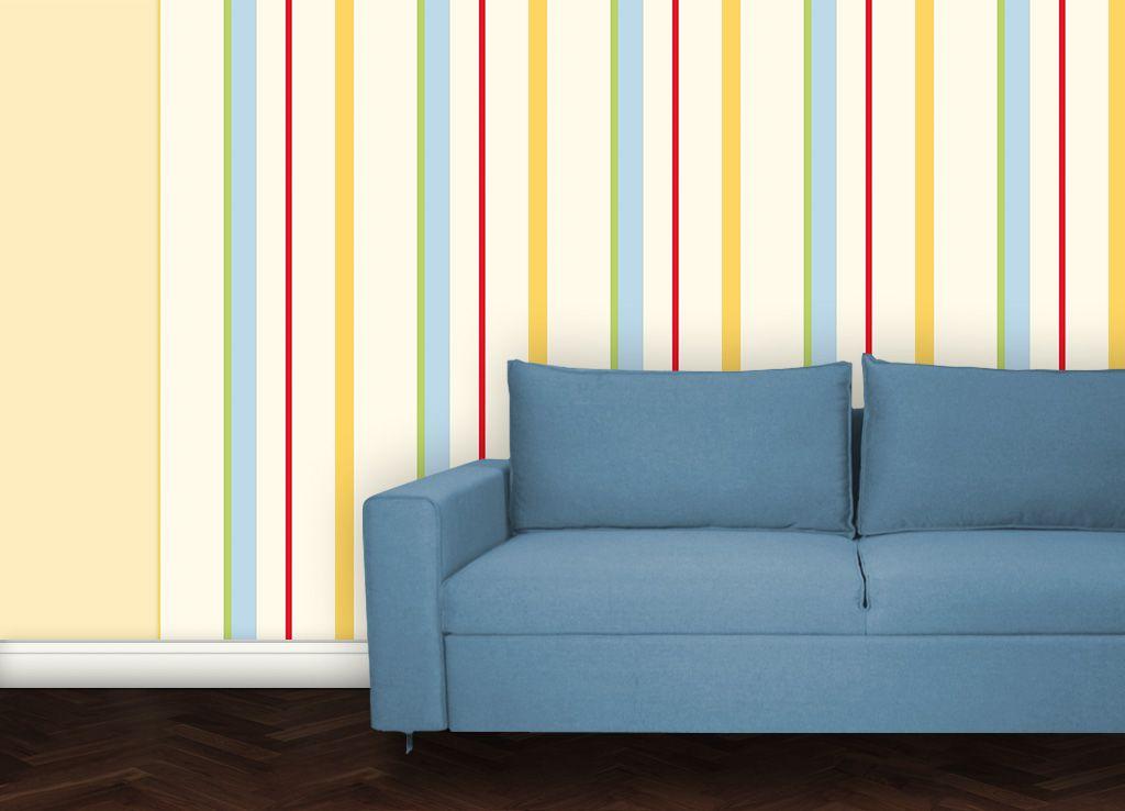 Coole Streifen Tapete von gmm-berlin Tapeten für schönes - schöne tapeten fürs wohnzimmer