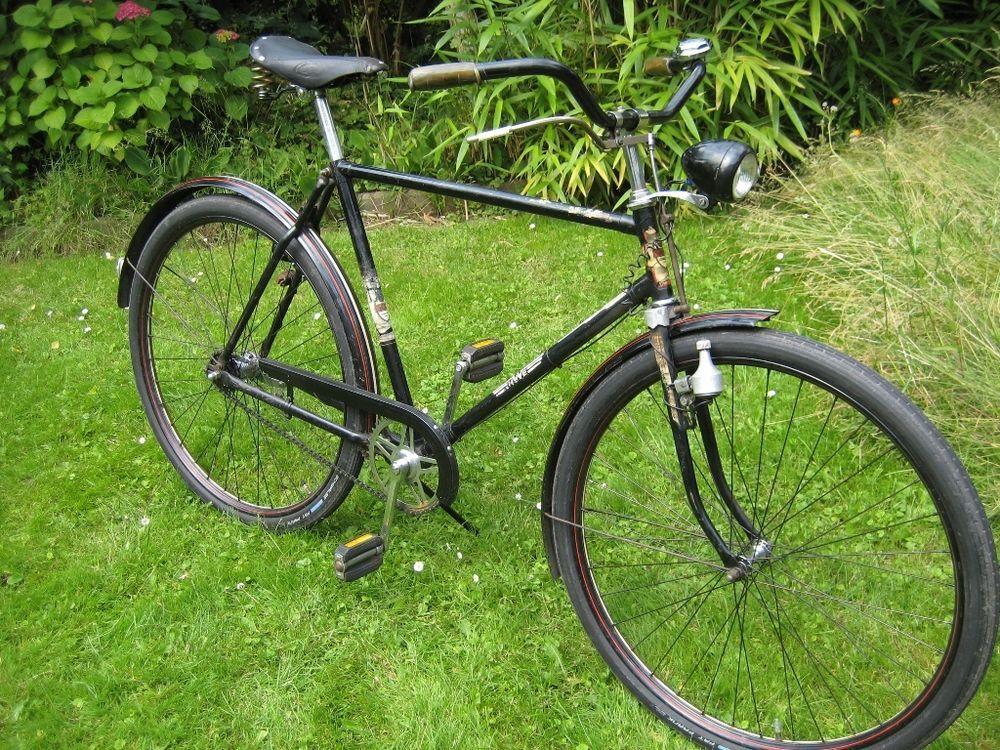 fahrrad oldtimer hwe heidemann werke einbeck baugleich nsu. Black Bedroom Furniture Sets. Home Design Ideas