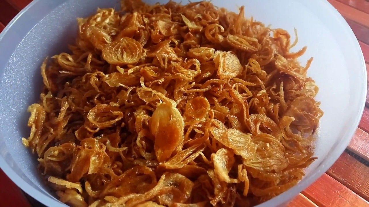 Cara Simpel Membuat Bawang Goreng Renyah Resep Masakan Indonesia Indonesian Food Recipe Masakan Indonesia Resep Resep Masakan Indonesia