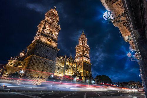 Catedral de Morelia by AlejandroTejada, via Flickr