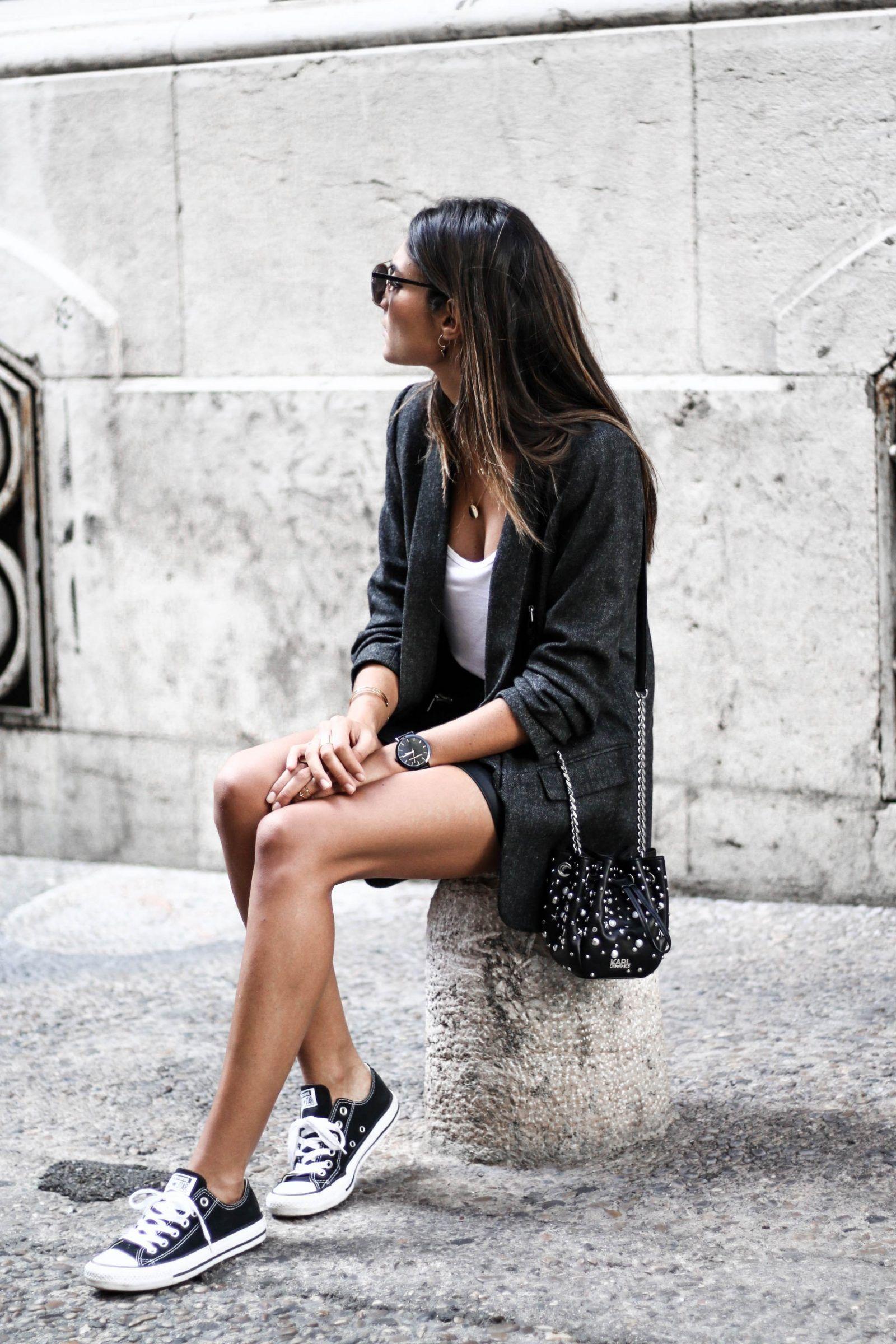 JUNESIXTYFIVE Look automne blazer converse | S T Y L E