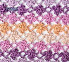 Blumenmaschen Häkeln Häkeln Häkeln Muster Und Häkeln Crochet