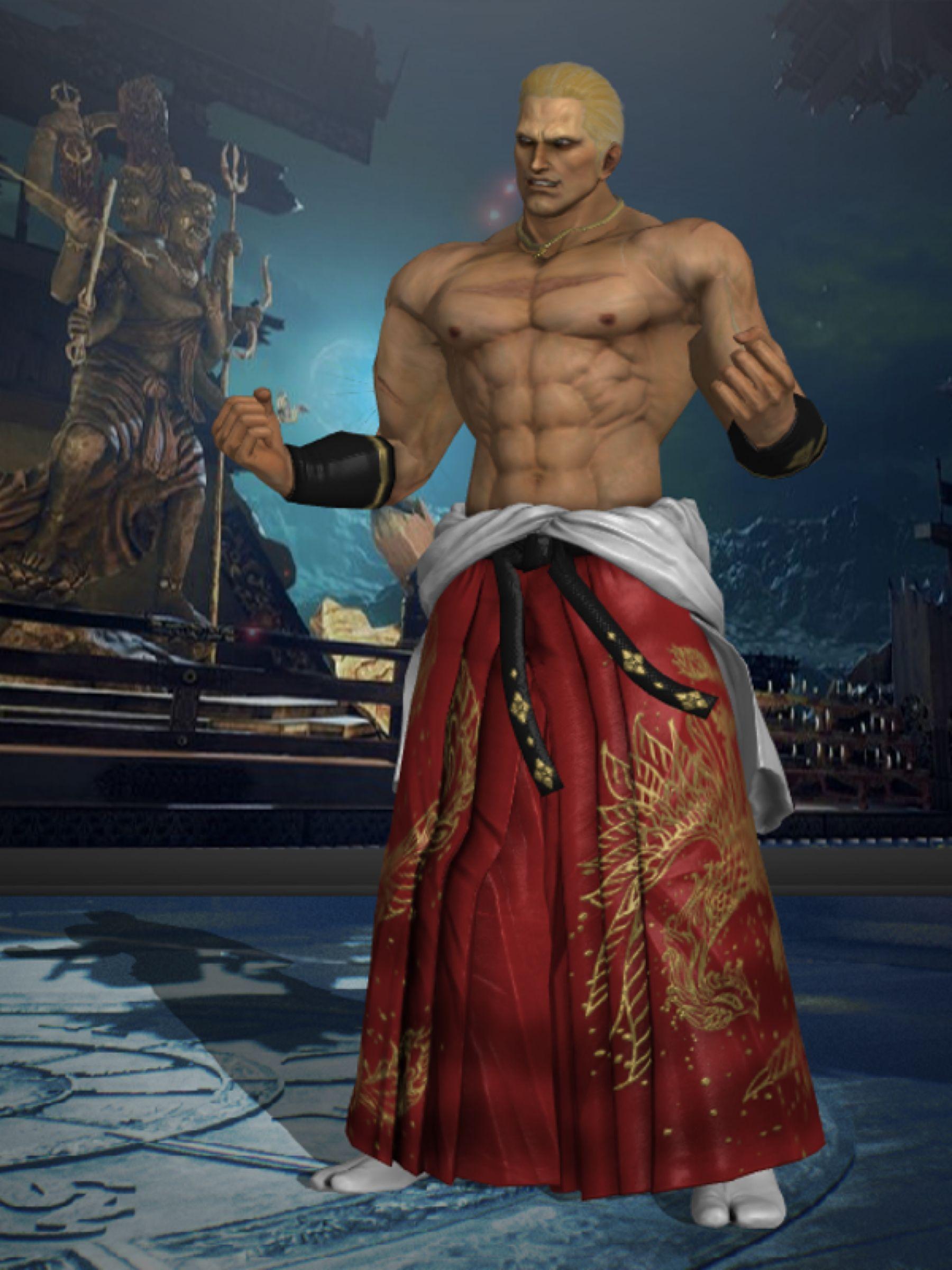 Tekken 7 Geese Howard By Burningenchanter On Deviantart King Of Fighters Tekken 7 Deviantart