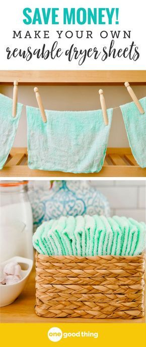 These Amazing Dryer Sheets Are So Cheap And Easy To Make ...