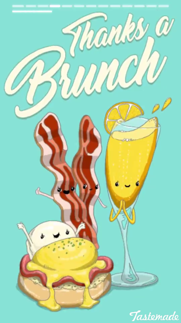 Funny Pun Pun Thanks A Brunch Food Humor Food puns