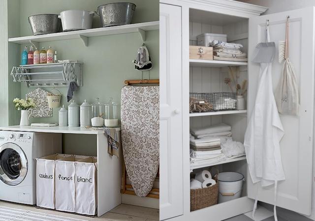 des inspirations pour am nager une buanderie salle de lavage laundry room design laundry. Black Bedroom Furniture Sets. Home Design Ideas