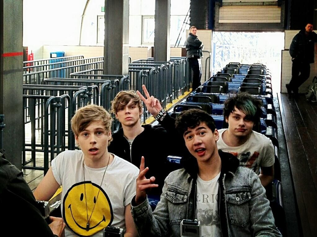 The boys filming for their Try Hard music video <3 | 5