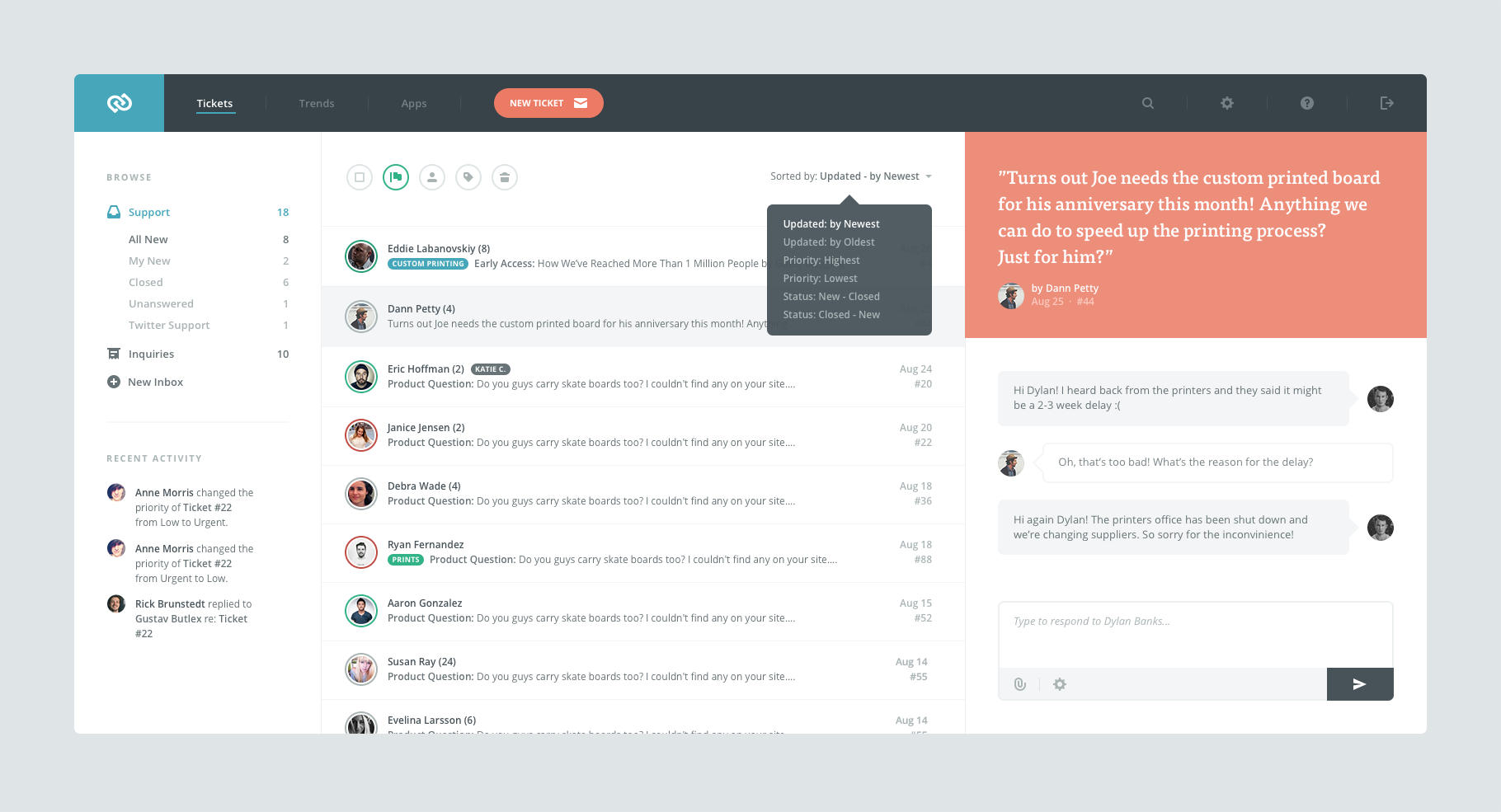 Dribbble Helpdesk Png By Victor Erixon Web Application Design Web App Design Ux Web Design