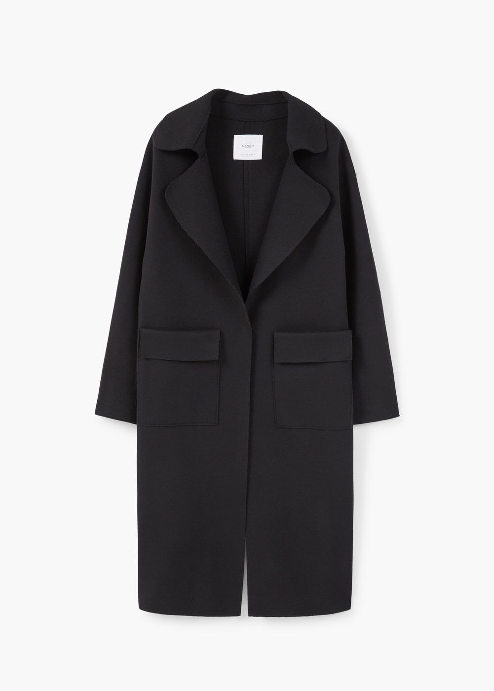c899e158ecf4 Pocketed wool coat - Women in 2019