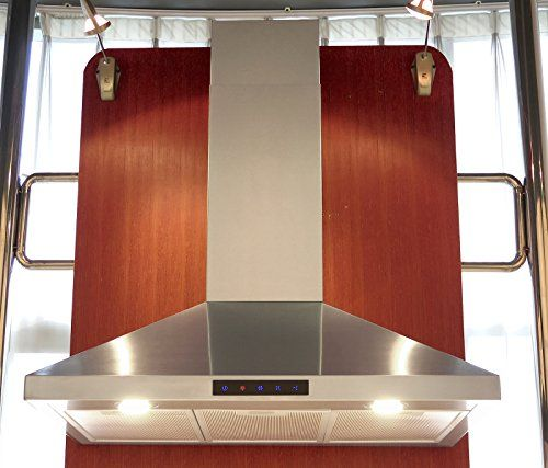 Kitchen Bath Collection Stl90 Led Stainless Steel Wall Mounted Kitchen Range Hood With High End Kitchen Bath Collection Steel Wall Kitchen Range Hood