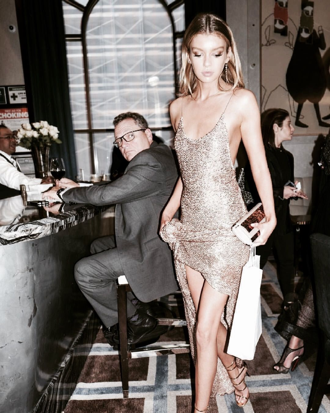 Take2t00 Stella Maxwell Glitter Clothes Outfit Dress