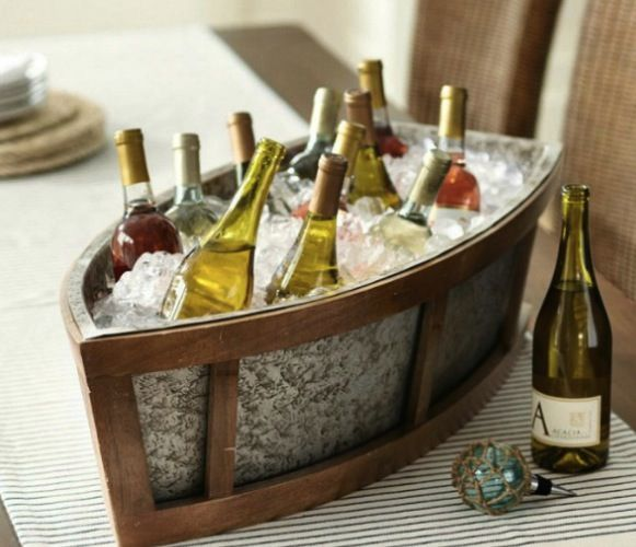 ice bucket boat pottery barn charleston 39 s exclusive toast to history event nautical wedding. Black Bedroom Furniture Sets. Home Design Ideas