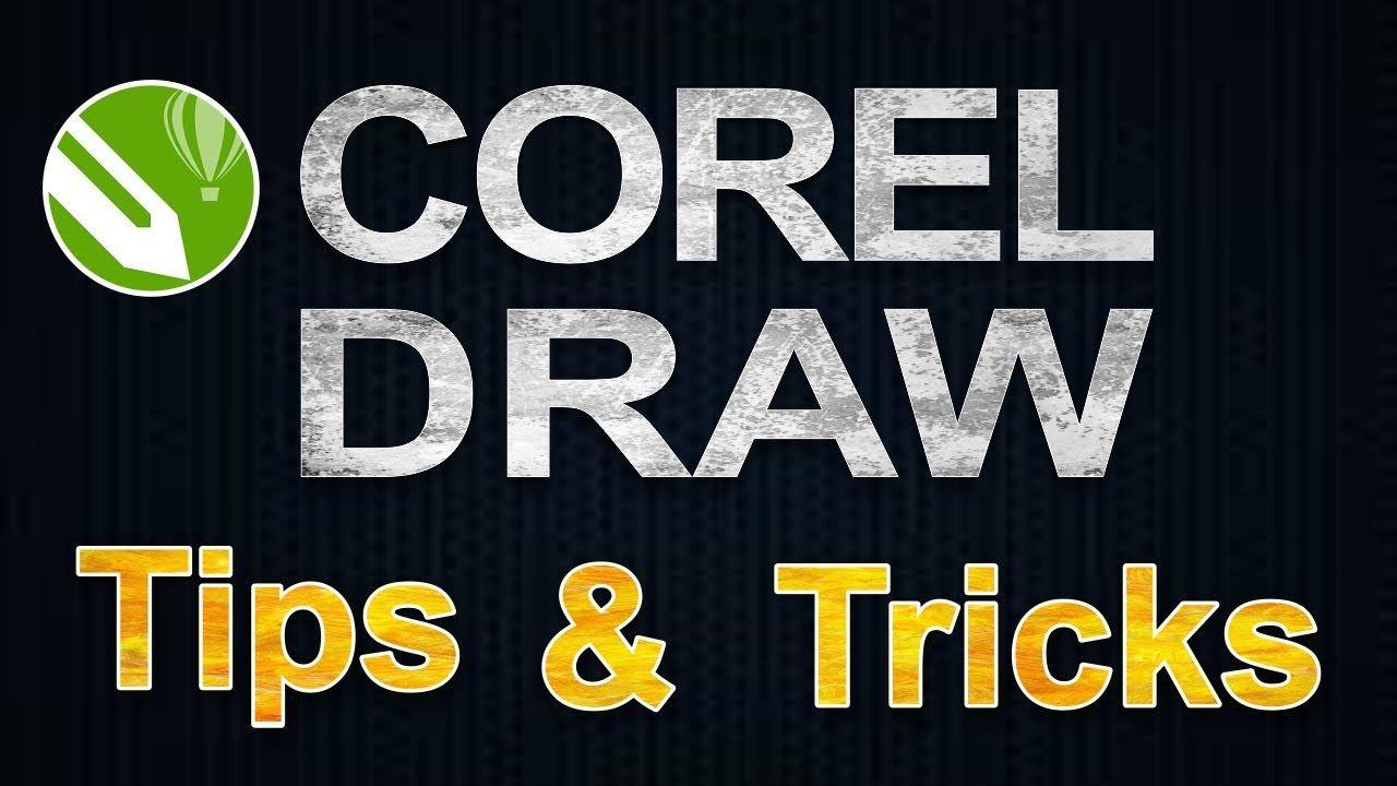 CorelDRAW Tips and Tricks in 2020 Coreldraw, Tips