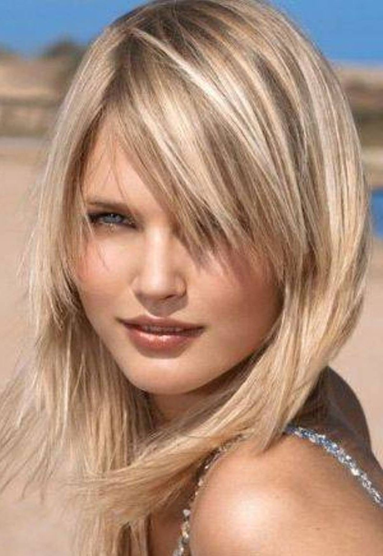 medium hairstyles for girls with straight hair hair pinterest