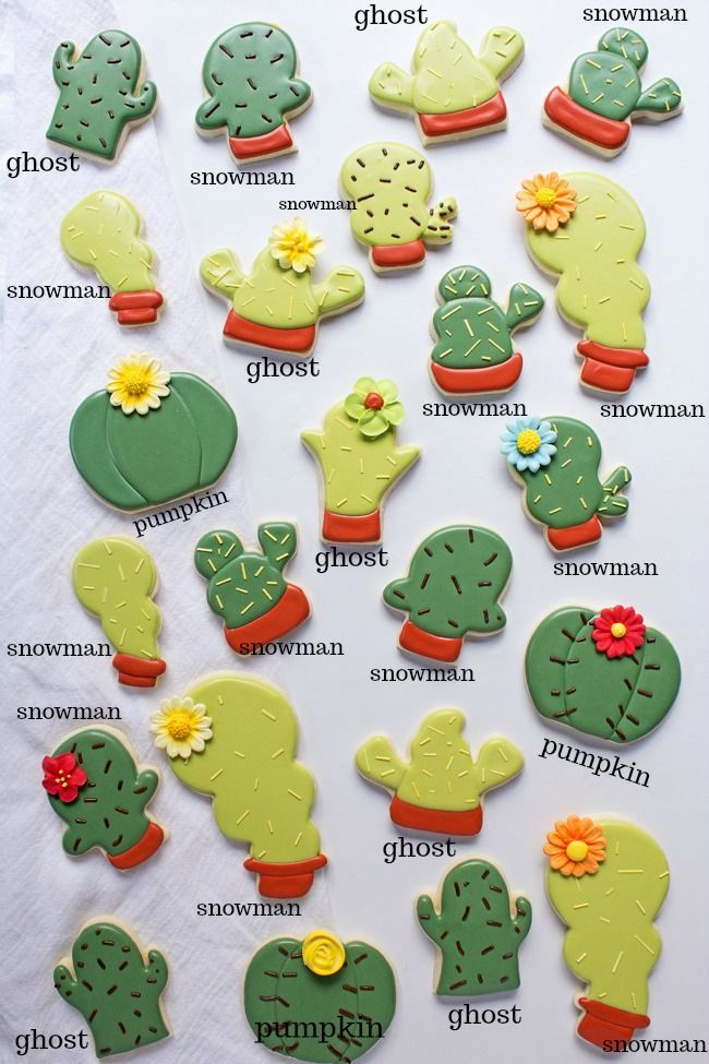 Photo of Make These Cute Cactus Cookies Without Any Custom Cutters