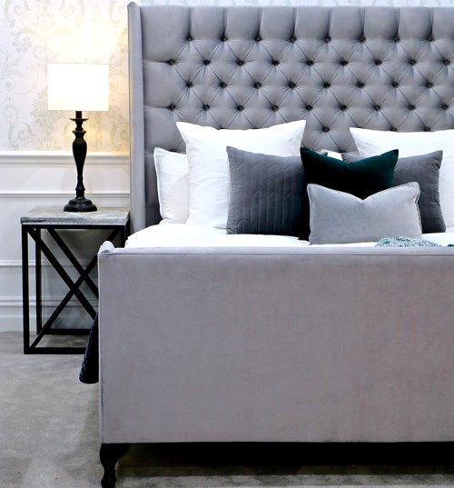 Wing Bed Head Bedhead Upholstered Beds Bedheads Headboards