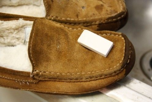 How To Clean Suede Shoes Slippers At Home Oddly Enough An Eraser Works Very Well