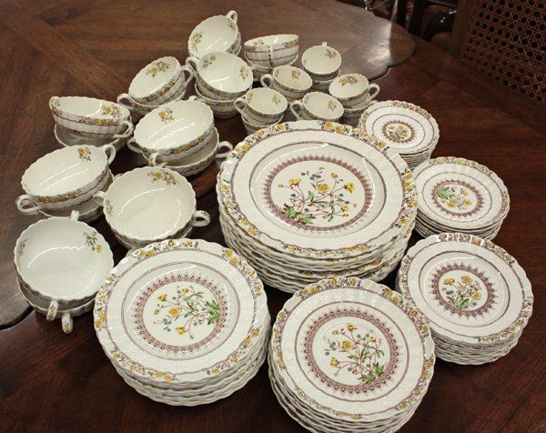 Copeland Spode China England Buttercup Vintage Copeland Spode China England Porcelain This Is The Patte Spode Tableware Collection Dinnerware Tableware