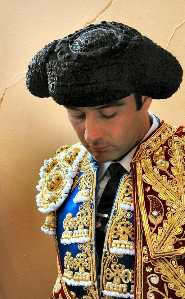 MONTERA HAT  Traditional Spanish hat worn by bullfighters ... 21b60d6cd510