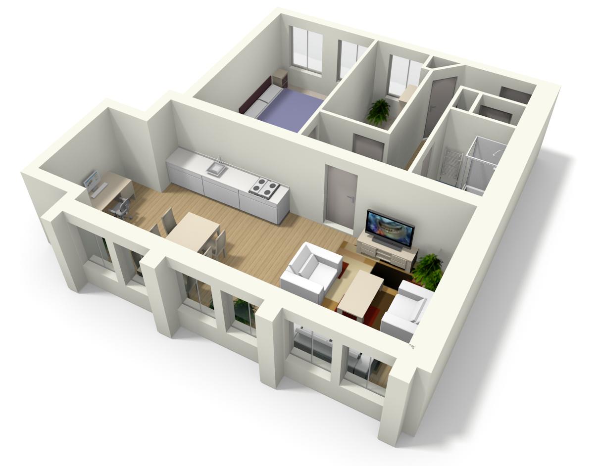 Apartment floor plan Home shelter, Floor plans, House
