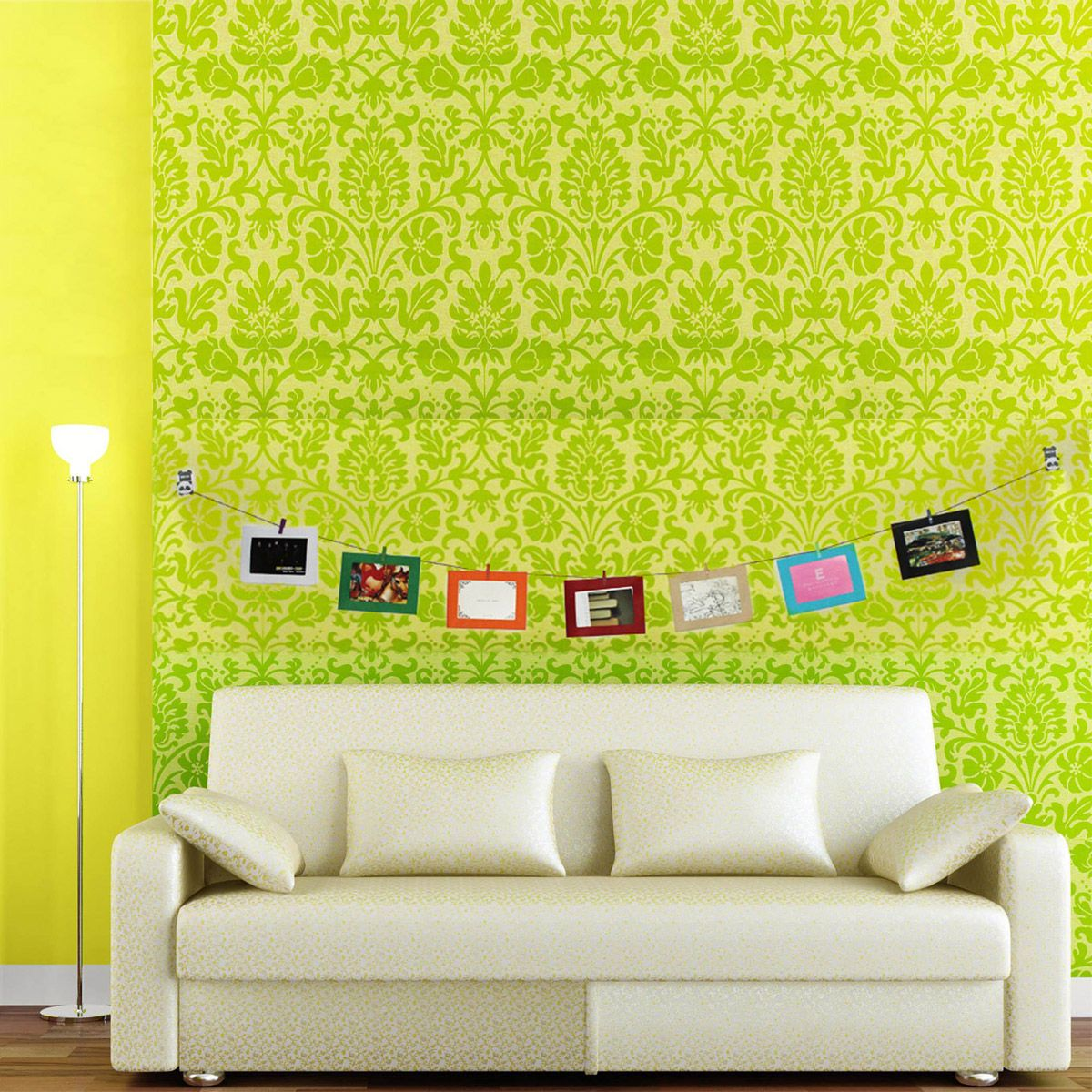 Wall Decoration DIY Paper Photo Pictures Frame With Mini Colorful ...