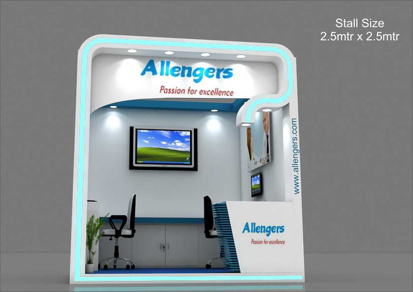 Small Exhibition Stand Sizes : Exhibition stalls work part 1 by mahender rawat at coroflot.com 1