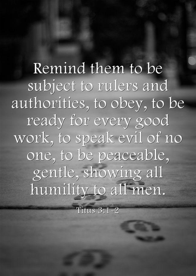 Titus 3:1-2