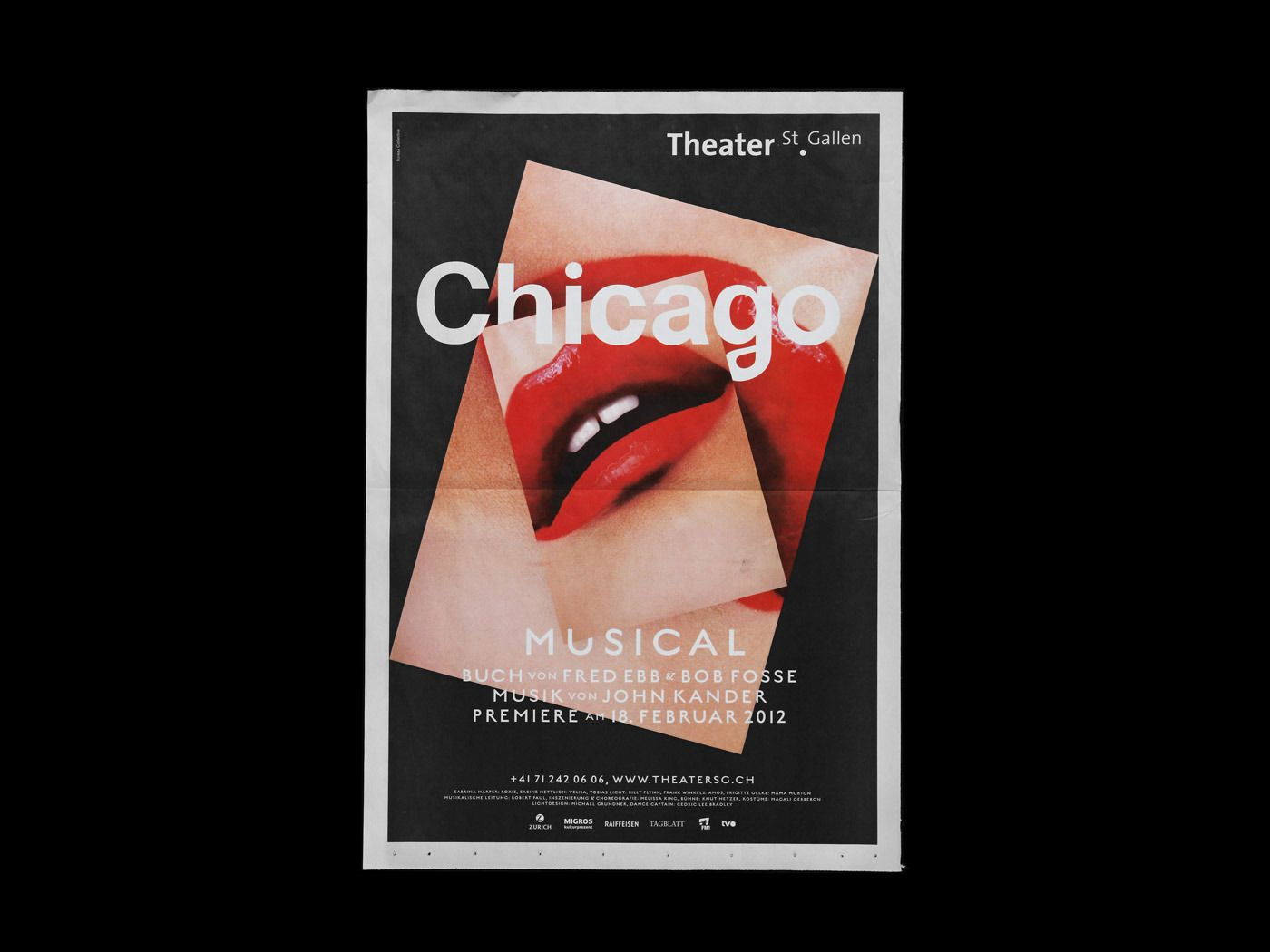 Bureau Collective Chicago Musical Chicago Musical Graphic Design Collection Graphic Design