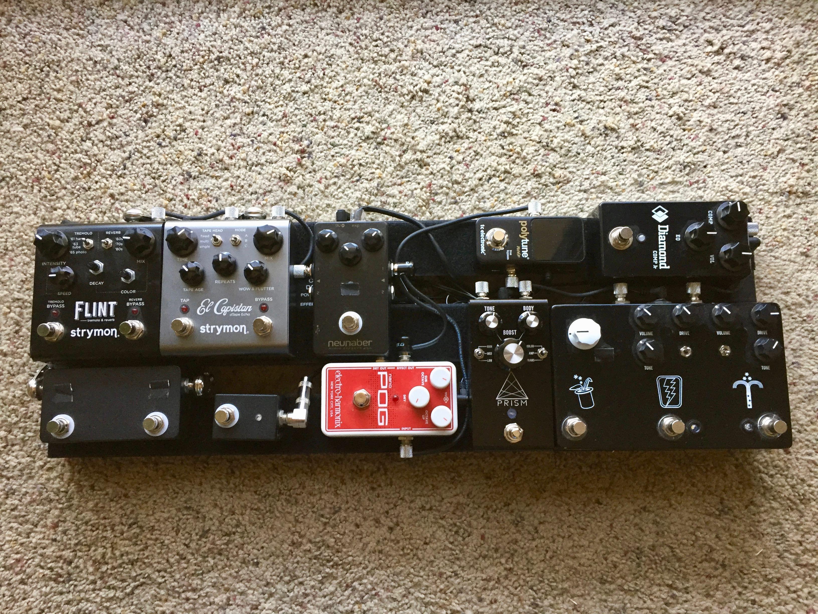 Metro24 compact guitar rig guitar pedals guitar pics