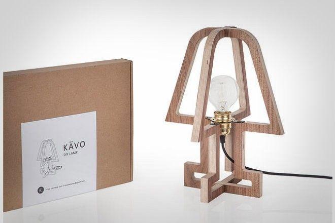 Лампа KAVO для минималистичного эко-дизайна - ШтукиШтуки