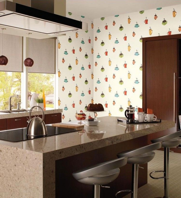 30 Originali Decorazioni per Pareti di Cucina in Diversi