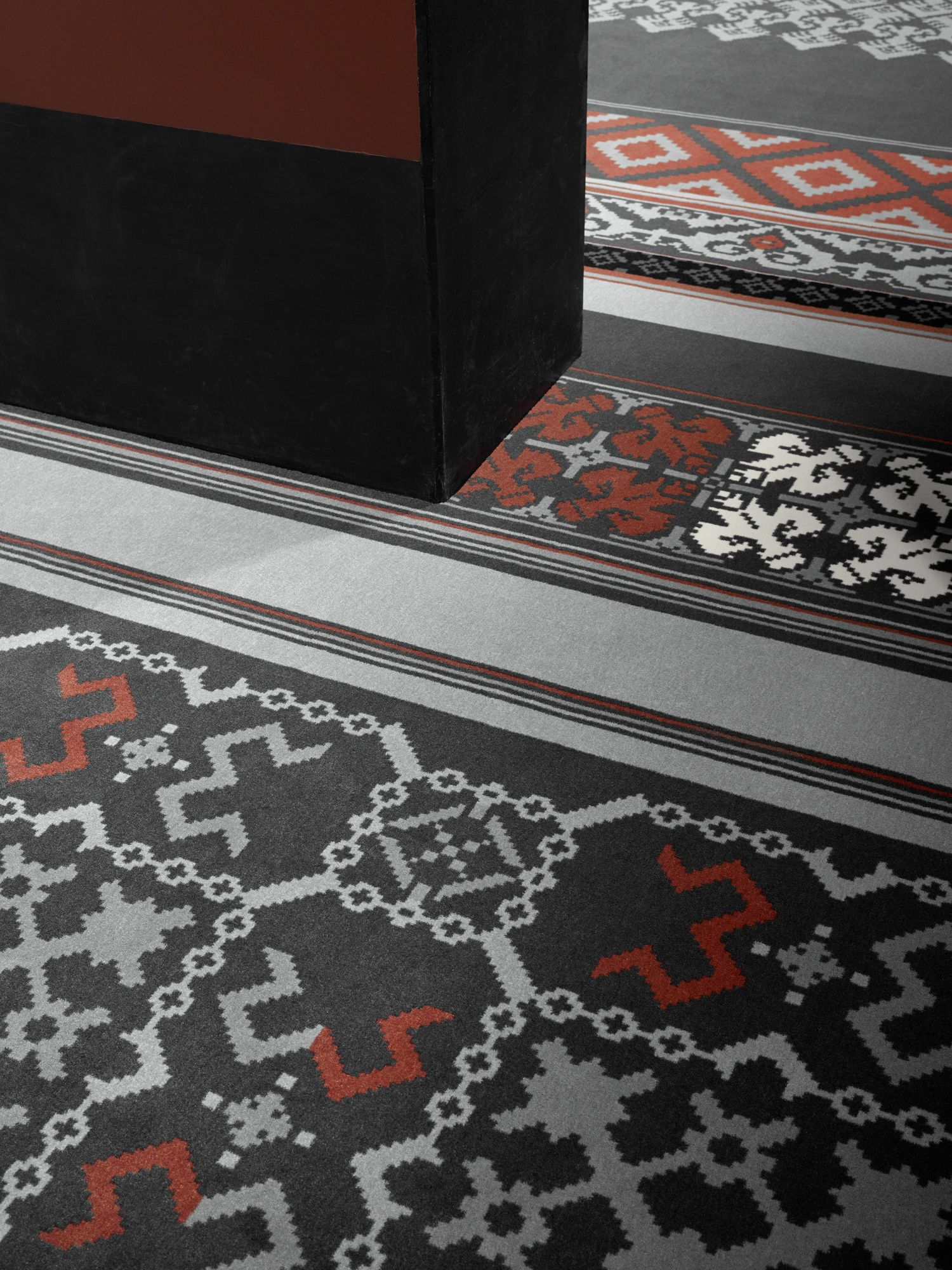 Village Prints Close Up Cultures Collection By Egecarpets Colourful Pattern Carpets Interiordesign Carpet Design Flooring Projects Carpet